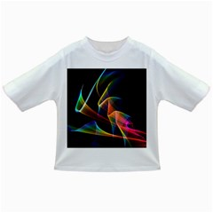 Crystal Rainbow, Abstract Winds Of Love  Baby T-shirt