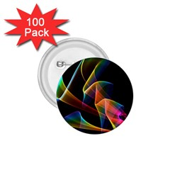 Crystal Rainbow, Abstract Winds Of Love  1.75  Button (100 pack)
