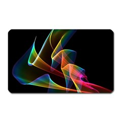 Crystal Rainbow, Abstract Winds Of Love  Magnet (Rectangular)