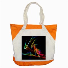 Crystal Rainbow, Abstract Winds Of Love  Accent Tote Bag