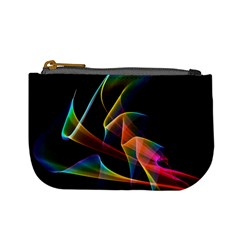 Crystal Rainbow, Abstract Winds Of Love  Coin Change Purse