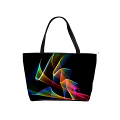 Crystal Rainbow, Abstract Winds Of Love  Large Shoulder Bag