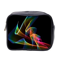 Crystal Rainbow, Abstract Winds Of Love  Mini Travel Toiletry Bag (two Sides)