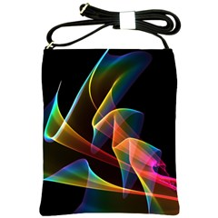 Crystal Rainbow, Abstract Winds Of Love  Shoulder Sling Bag