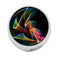 Crystal Rainbow, Abstract Winds Of Love  4 Port Usb Hub (two Sides)