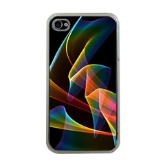Crystal Rainbow, Abstract Winds Of Love  Apple Iphone 4 Case (clear)