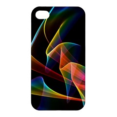 Crystal Rainbow, Abstract Winds Of Love  Apple Iphone 4/4s Hardshell Case