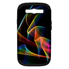Crystal Rainbow, Abstract Winds Of Love  Samsung Galaxy S Iii Hardshell Case (pc+silicone)