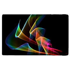 Crystal Rainbow, Abstract Winds Of Love  Apple iPad 2 Flip Case