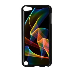 Crystal Rainbow, Abstract Winds Of Love  Apple Ipod Touch 5 Case (black)