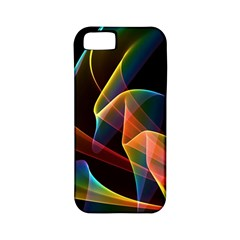 Crystal Rainbow, Abstract Winds Of Love  Apple iPhone 5 Classic Hardshell Case (PC+Silicone)