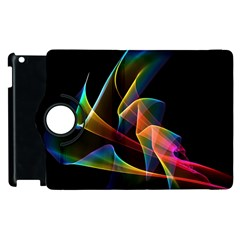 Crystal Rainbow, Abstract Winds Of Love  Apple iPad 3/4 Flip 360 Case