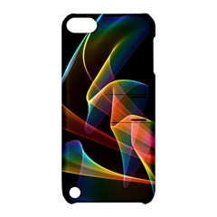 Crystal Rainbow, Abstract Winds Of Love  Apple Ipod Touch 5 Hardshell Case With Stand