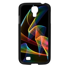 Crystal Rainbow, Abstract Winds Of Love  Samsung Galaxy S4 I9500/ I9505 Case (Black)