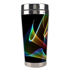 Crystal Rainbow, Abstract Winds Of Love  Stainless Steel Travel Tumbler