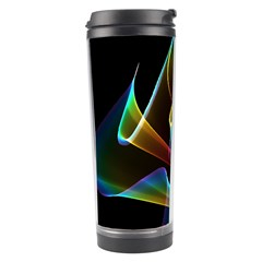 Crystal Rainbow, Abstract Winds Of Love  Travel Tumbler