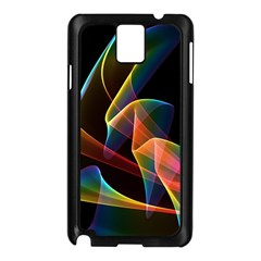 Crystal Rainbow, Abstract Winds Of Love  Samsung Galaxy Note 3 N9005 Case (Black)