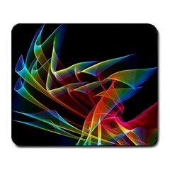 Dancing Northern Lights, Abstract Summer Sky  Large Mouse Pad (Rectangle)