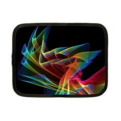 Dancing Northern Lights, Abstract Summer Sky  Netbook Sleeve (small)