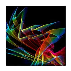 Dancing Northern Lights, Abstract Summer Sky  Face Towel