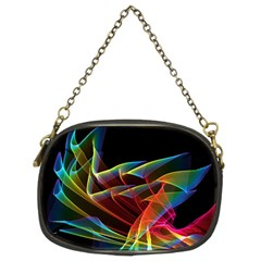 Dancing Northern Lights, Abstract Summer Sky  Chain Purse (Two Sided)