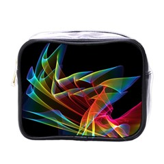 Dancing Northern Lights, Abstract Summer Sky  Mini Travel Toiletry Bag (one Side)