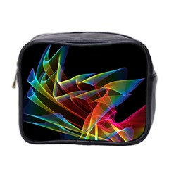 Dancing Northern Lights, Abstract Summer Sky  Mini Travel Toiletry Bag (two Sides)