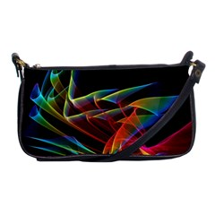Dancing Northern Lights, Abstract Summer Sky  Evening Bag