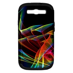 Dancing Northern Lights, Abstract Summer Sky  Samsung Galaxy S Iii Hardshell Case (pc+silicone)