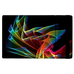 Dancing Northern Lights, Abstract Summer Sky  Apple iPad 3/4 Flip Case