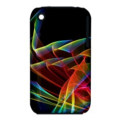 Dancing Northern Lights, Abstract Summer Sky  Apple Iphone 3g/3gs Hardshell Case (pc+silicone)