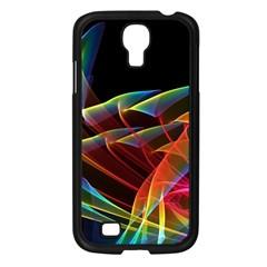 Dancing Northern Lights, Abstract Summer Sky  Samsung Galaxy S4 I9500/ I9505 Case (Black)