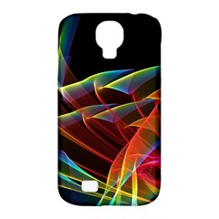 Dancing Northern Lights, Abstract Summer Sky  Samsung Galaxy S4 Classic Hardshell Case (PC+Silicone)