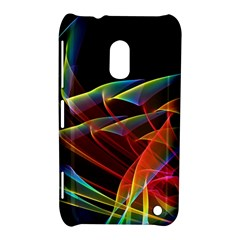 Dancing Northern Lights, Abstract Summer Sky  Nokia Lumia 620 Hardshell Case