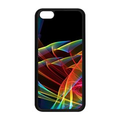 Dancing Northern Lights, Abstract Summer Sky  Apple Iphone 5c Seamless Case (black)