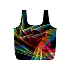 Dancing Northern Lights, Abstract Summer Sky  Reusable Bag (s)