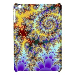 Desert Winds, Abstract Gold Purple Cactus  Apple iPad Mini Hardshell Case