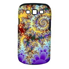 Desert Winds, Abstract Gold Purple Cactus  Samsung Galaxy S III Classic Hardshell Case (PC+Silicone)