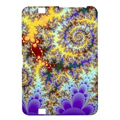 Desert Winds, Abstract Gold Purple Cactus  Kindle Fire Hd 8 9  Hardshell Case
