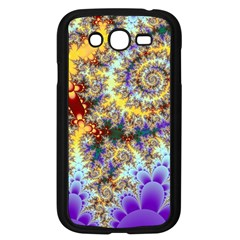 Desert Winds, Abstract Gold Purple Cactus  Samsung Galaxy Grand Duos I9082 Case (black)