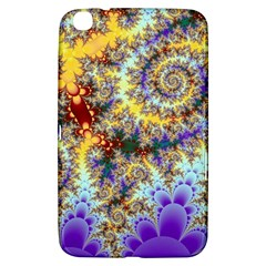 Desert Winds, Abstract Gold Purple Cactus  Samsung Galaxy Tab 3 (8 ) T3100 Hardshell Case