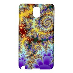 Desert Winds, Abstract Gold Purple Cactus  Samsung Galaxy Note 3 N9005 Hardshell Case