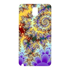 Desert Winds, Abstract Gold Purple Cactus  Samsung Galaxy Note 3 N9005 Hardshell Back Case