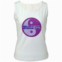 Yin & Yang Of Chronic Pain Women s Tank Top (White)