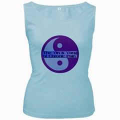 Yin & Yang Of Chronic Pain Women s Tank Top (Baby Blue)