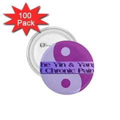 Yin & Yang Of Chronic Pain 1.75  Button (100 pack)