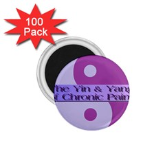 Yin & Yang Of Chronic Pain 1 75  Button Magnet (100 Pack)