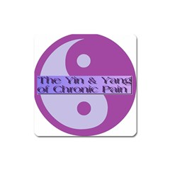 Yin & Yang Of Chronic Pain Magnet (Square)