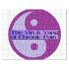 Yin & Yang Of Chronic Pain Jigsaw Puzzle (rectangle)