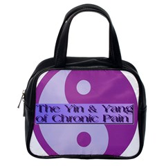 Yin & Yang Of Chronic Pain Classic Handbag (One Side)